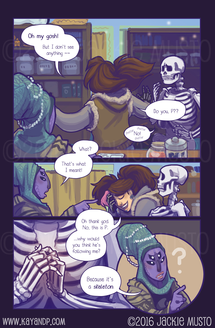 Kay and P, Issue 18: Page 09