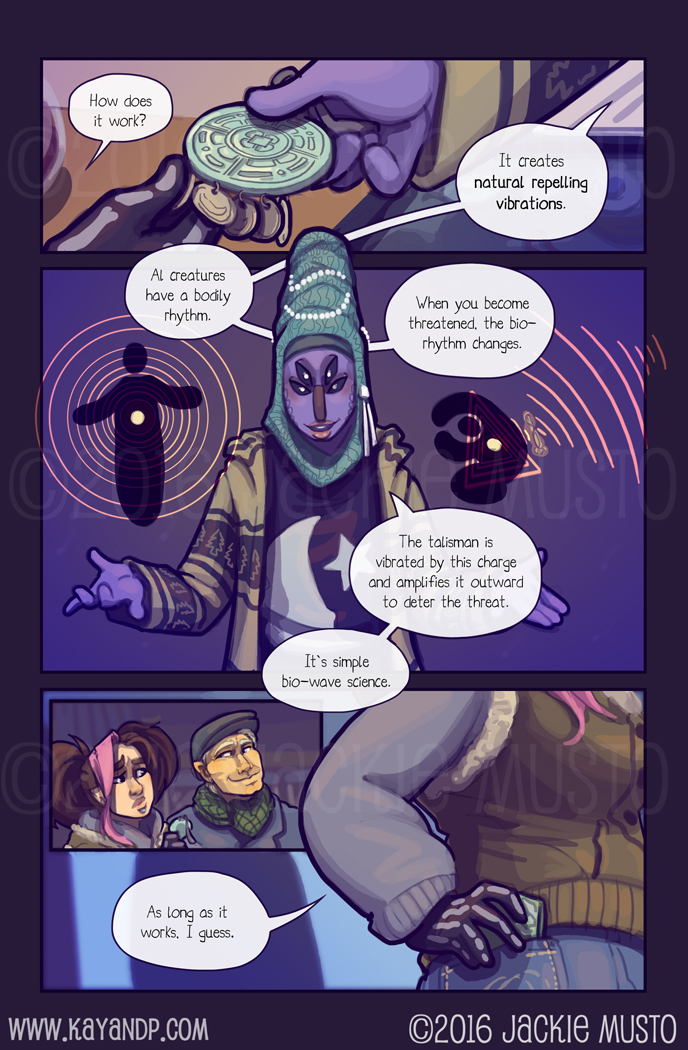 Kay and P: Issue 18, Page 12