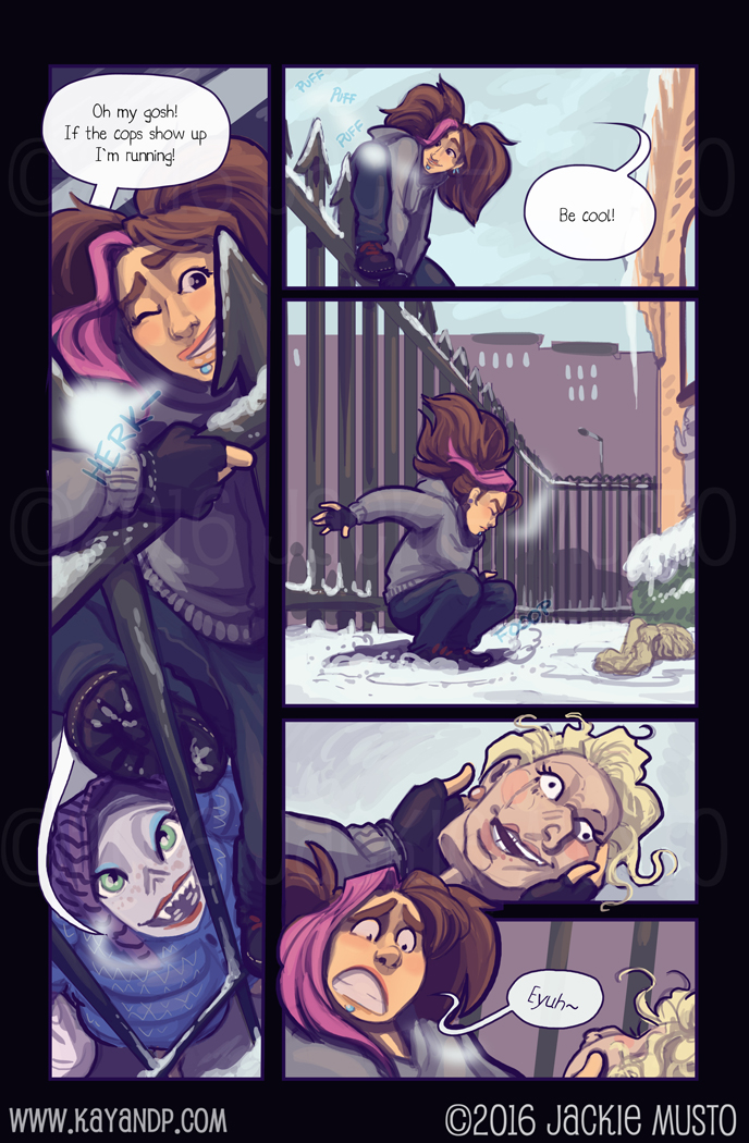 Kay and P, Issue 19: Page 25