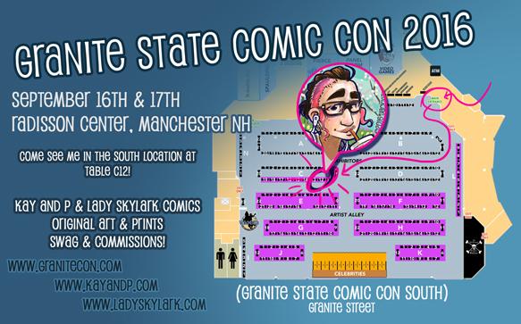 Granite State Comic Con 2016!