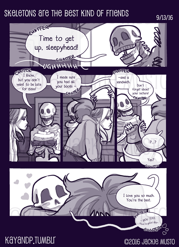 Small Bits: Skeletons Make the Best Friends