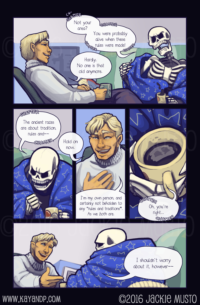 Kay and P, Issue 20: Page 12