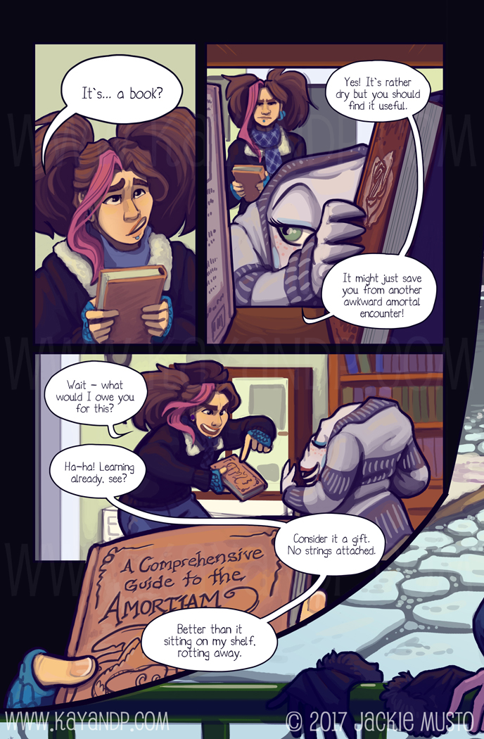 Kay and P, Issue 20: Page 28