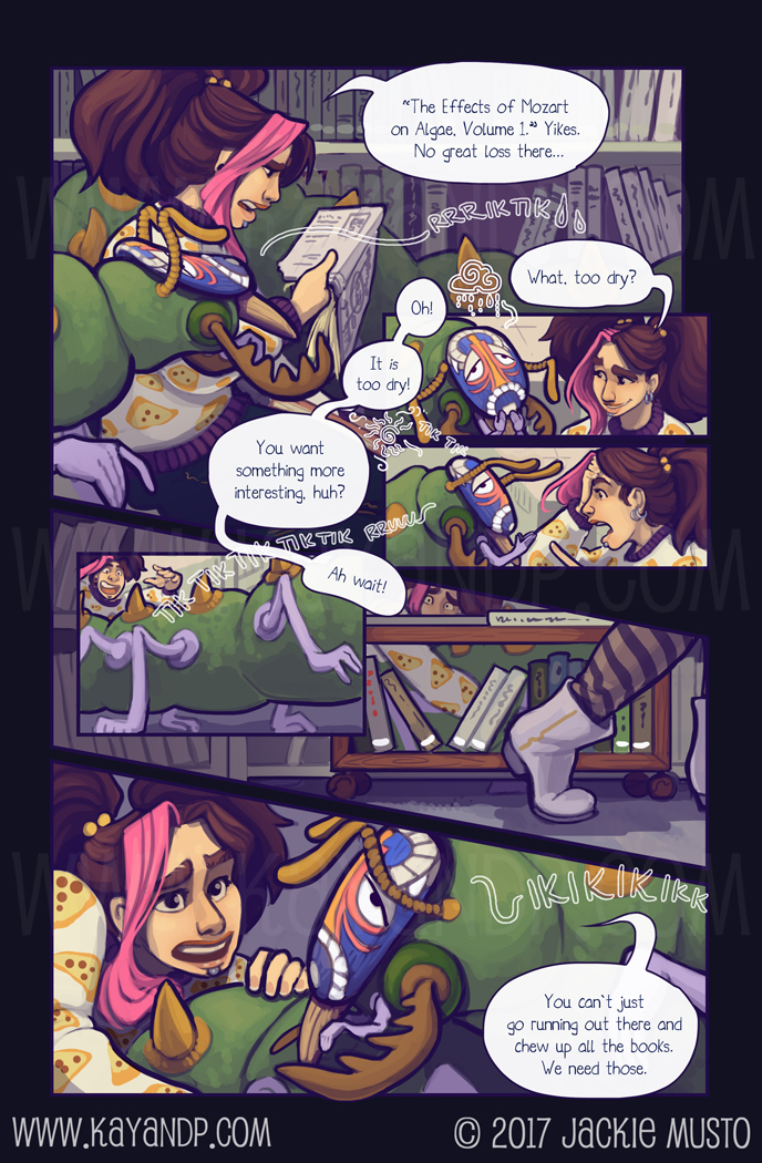 Kay and P, Issue 21: Page 09
