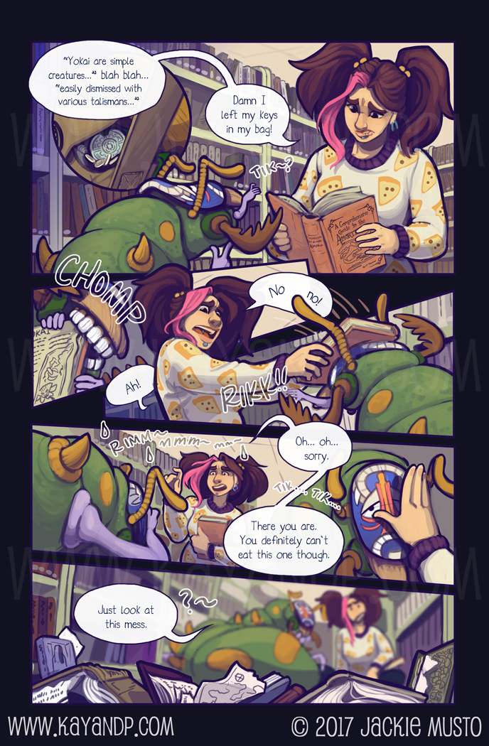 Kay and P, Issue 21: Page 08