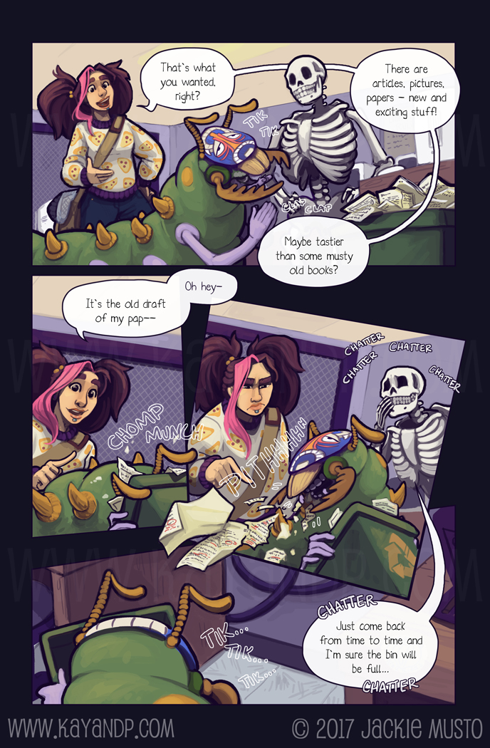 Kay and P, Issue 21: Page 12