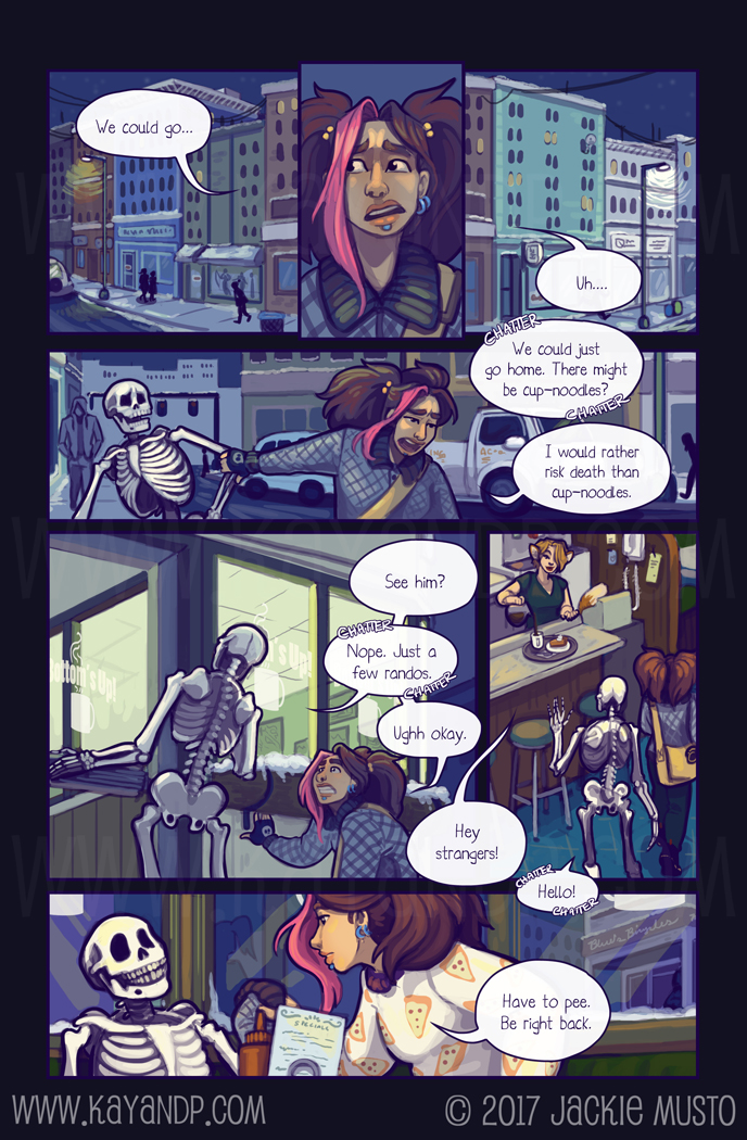 Kay and P, Issue 21: Page 16