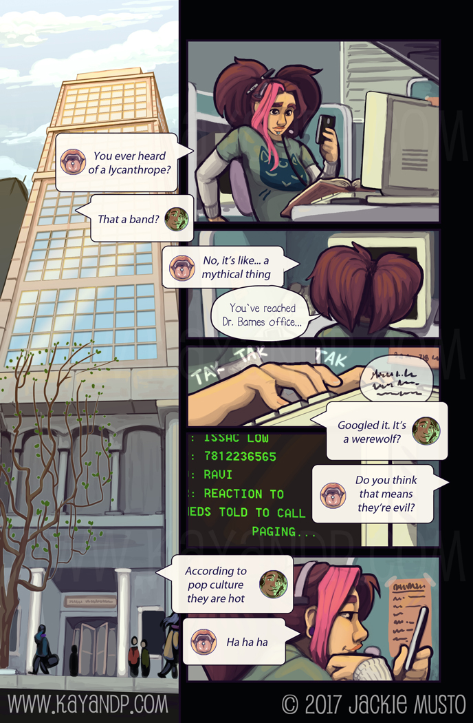 Kay and P, Issue 21: Page 22