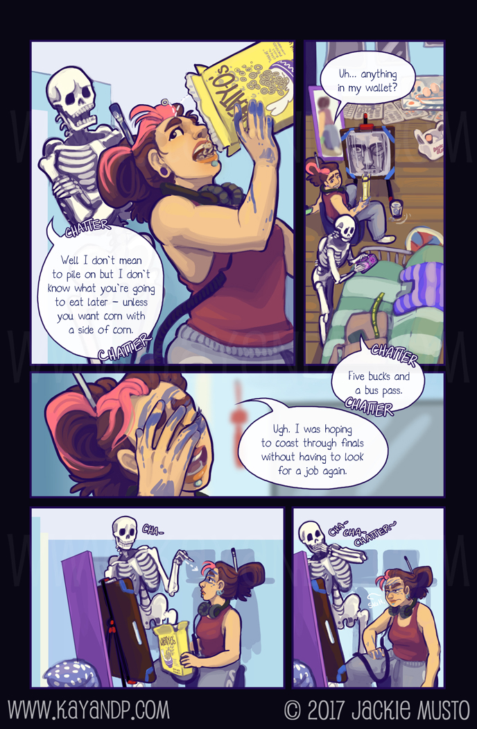 Kay and P, Issue 22: Page 03