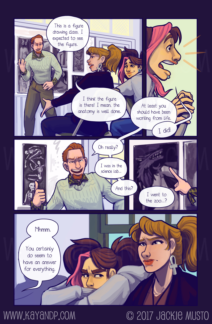 Kay and P, Issue 22: Page 18
