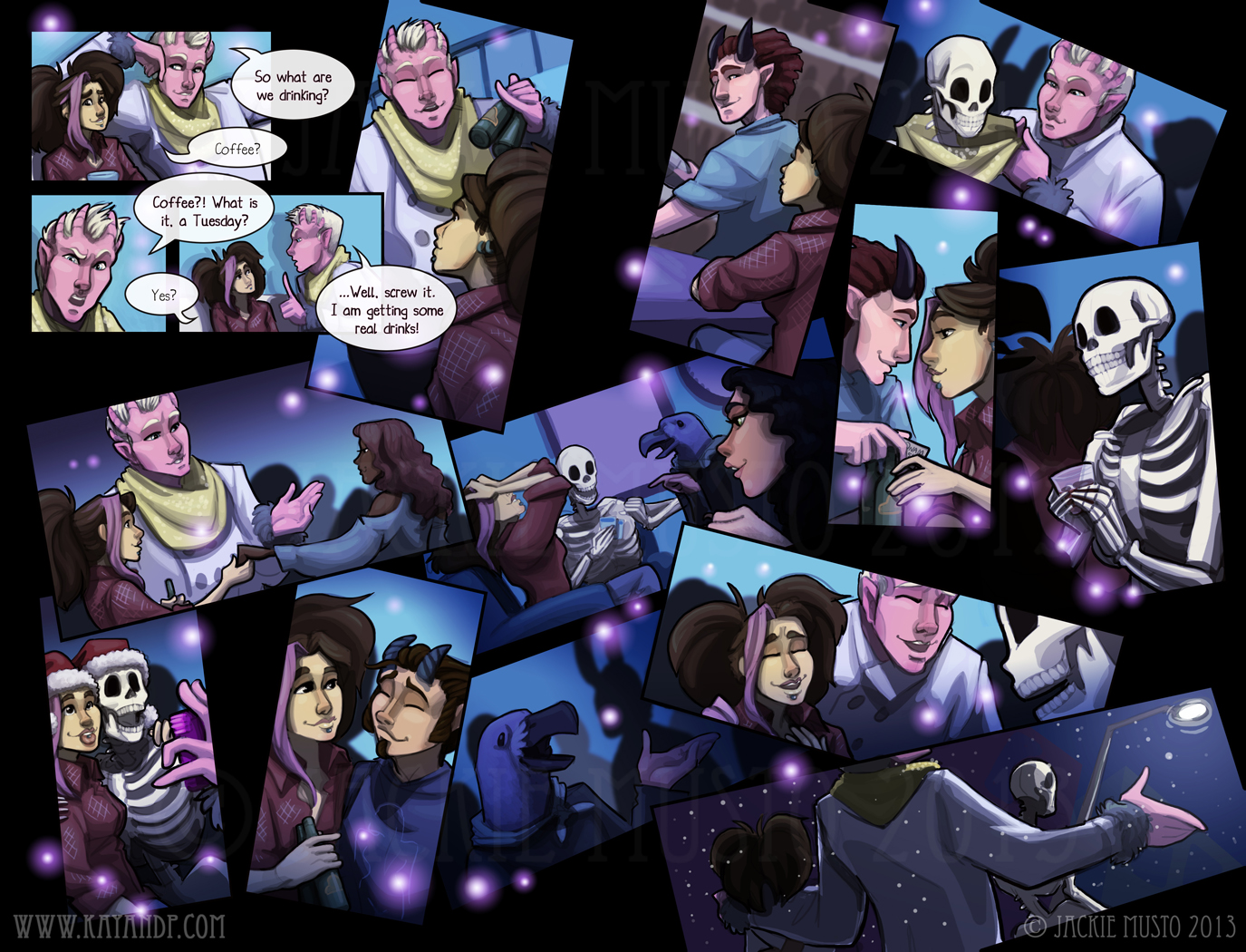 Kay and P Issue 11 - Page 20-21