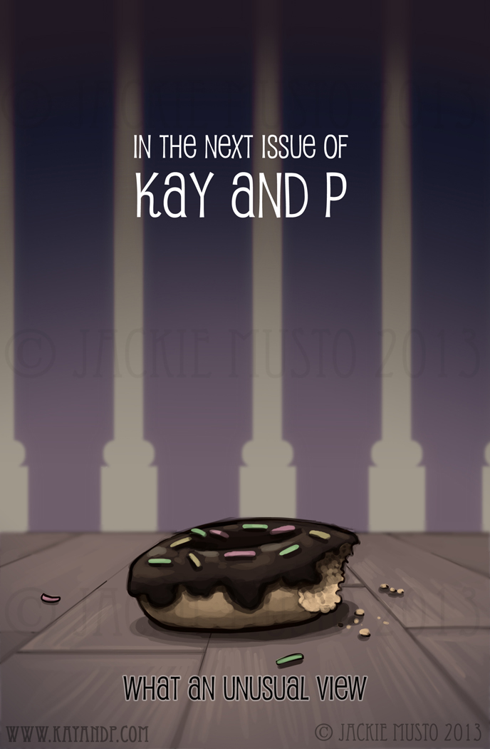 Kay and P Issue 10 - Page Back Cover