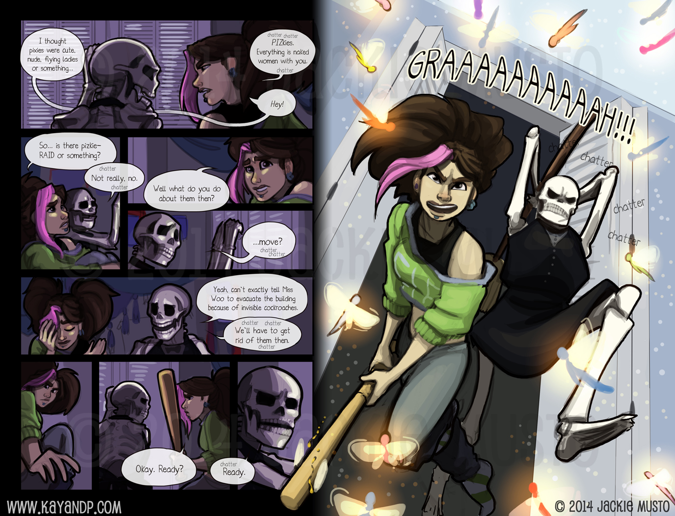 Kay and P Issue 12 - Page 16-17