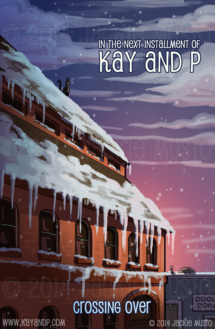 Kay and P Issue 13 - Back Cover