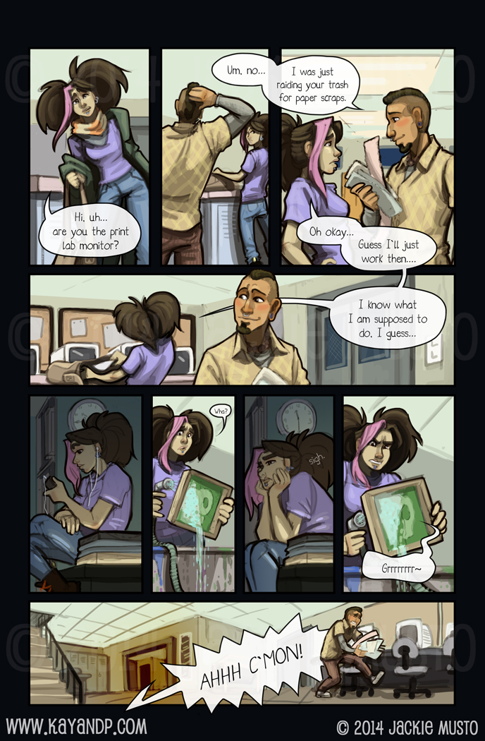 Crossing Over: Page Two