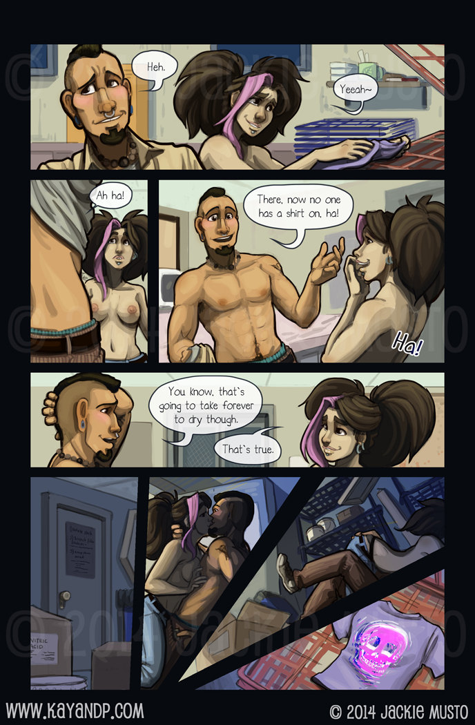 Crossing Over: Page Five