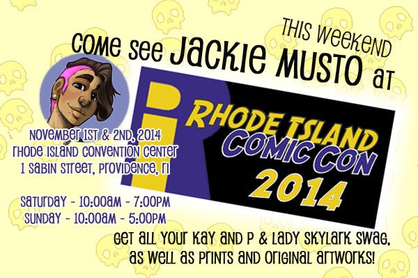 Rhode Island Comic Con!