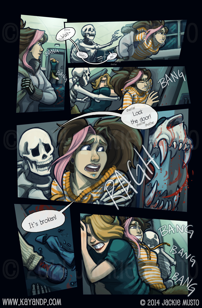 Kay and P: Issue 14, Page 23