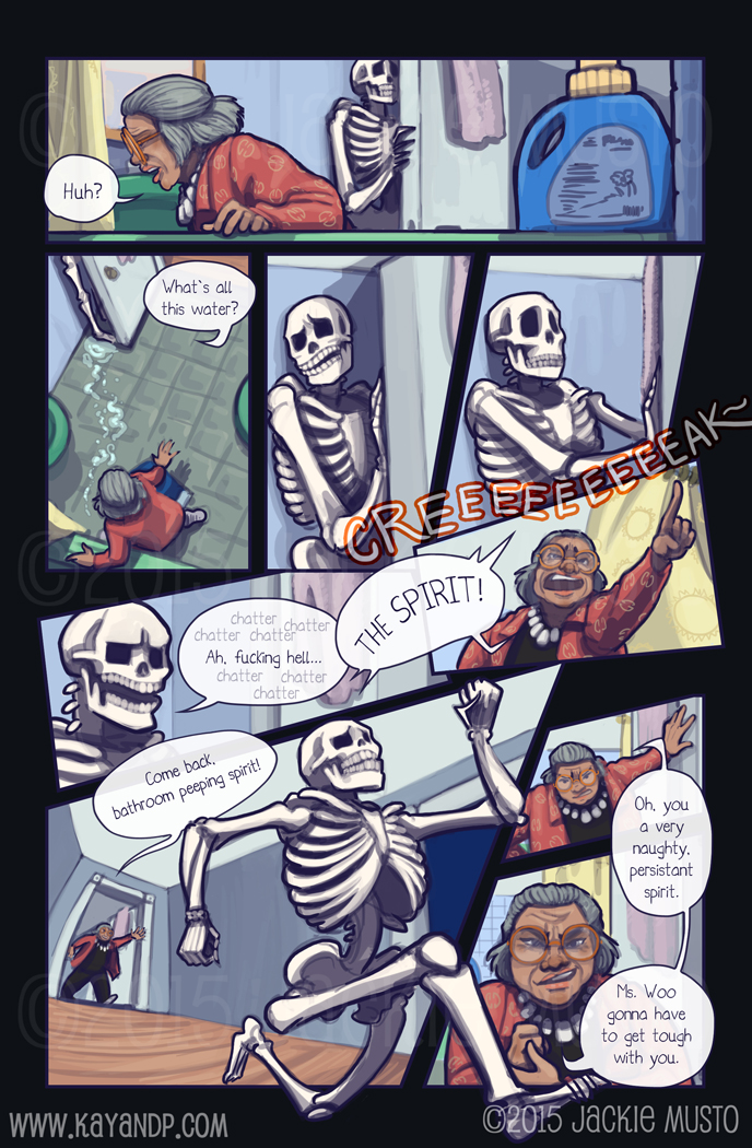 Kay and P: Issue 15, Page 12