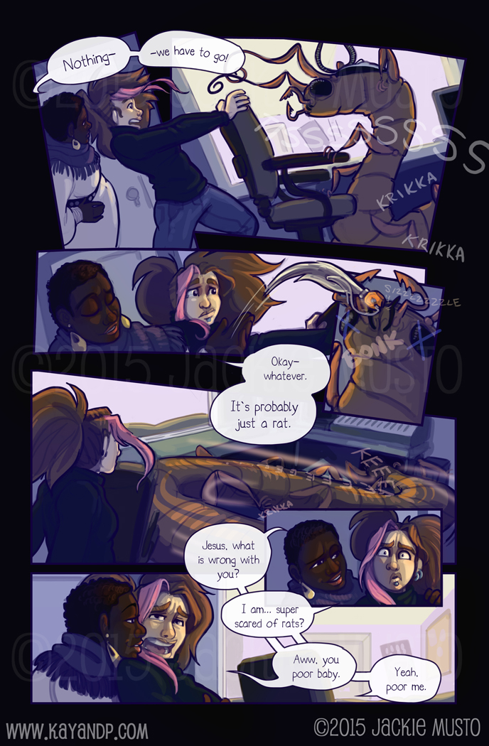 Kay and P: Issue 15, Page 21