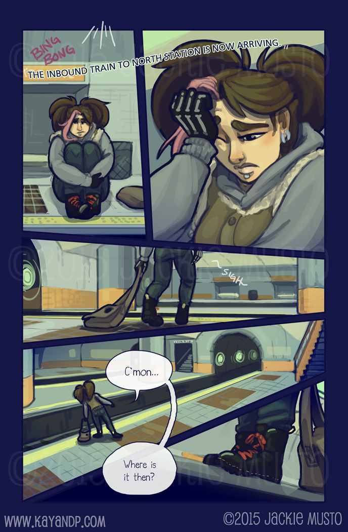 Kay and P, Issue 17: Page 15